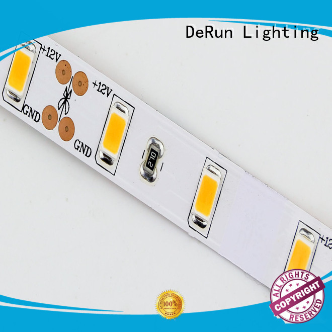 DeRun hot-sale coloured led strip lights effectively for dining room