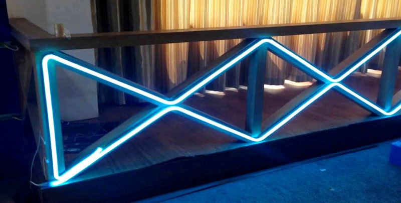 DeRun structure led neon flex supplier for room