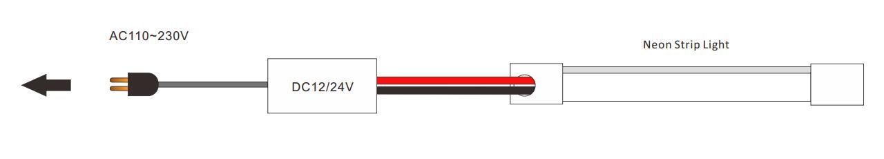 DeRun first-rate neon strip light supply for restaurant-18
