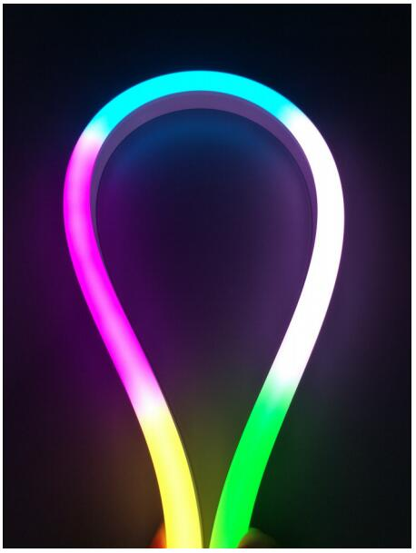 DeRun two-color neon strip light-3