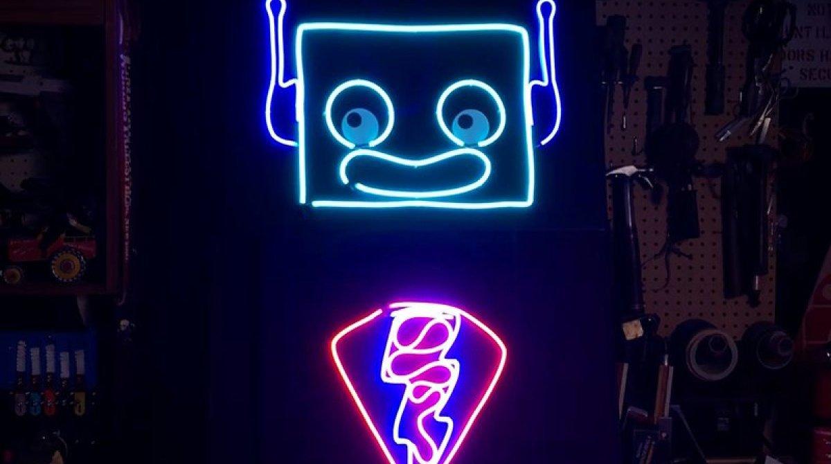 scientific led neon flex linear for event