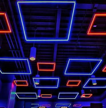 DeRun first-rate neon strip light supply for restaurant-10