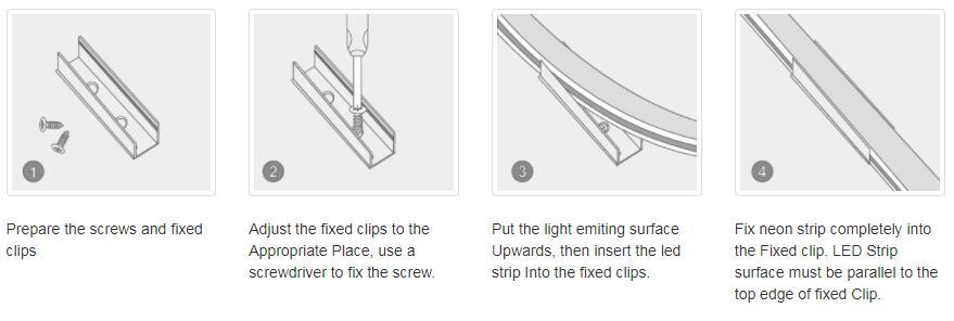 DeRun first-rate neon strip light supply for restaurant-17