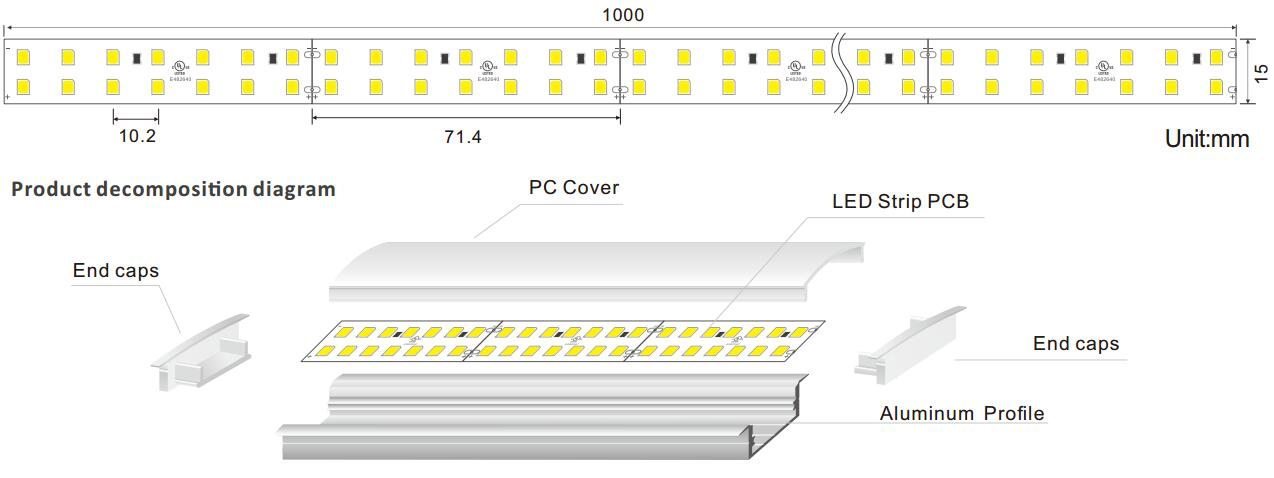 DeRun durable linear lighting check now for wedding-1