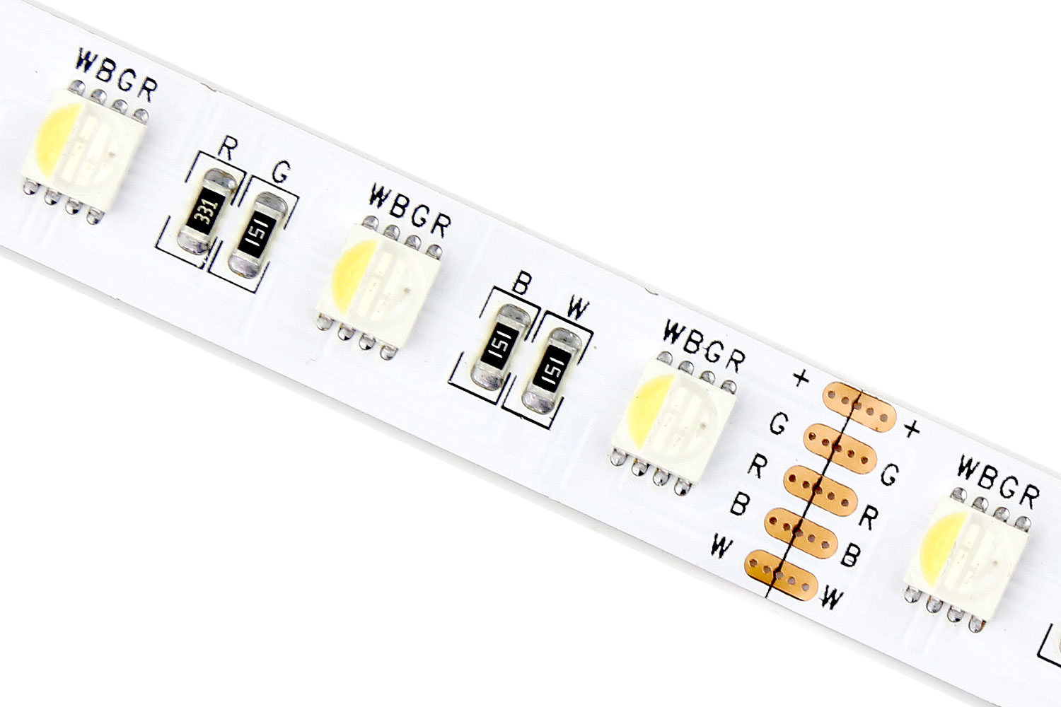 DeRun diodes rgbw led strip light wholesale for entry-1