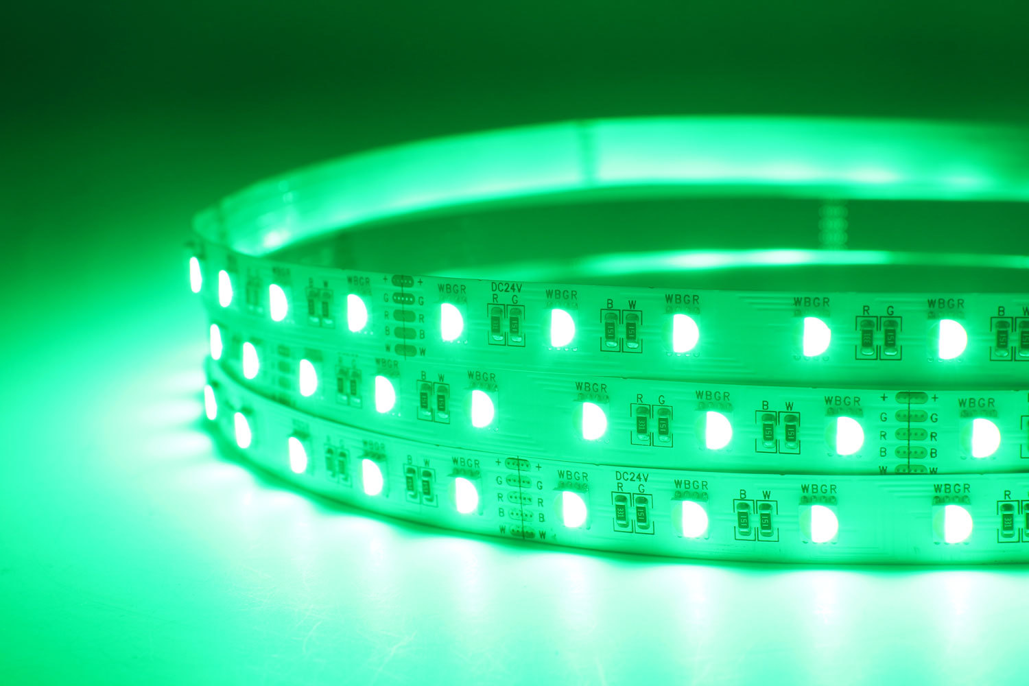 DeRun flexible rgbcct led strip factory for decoration