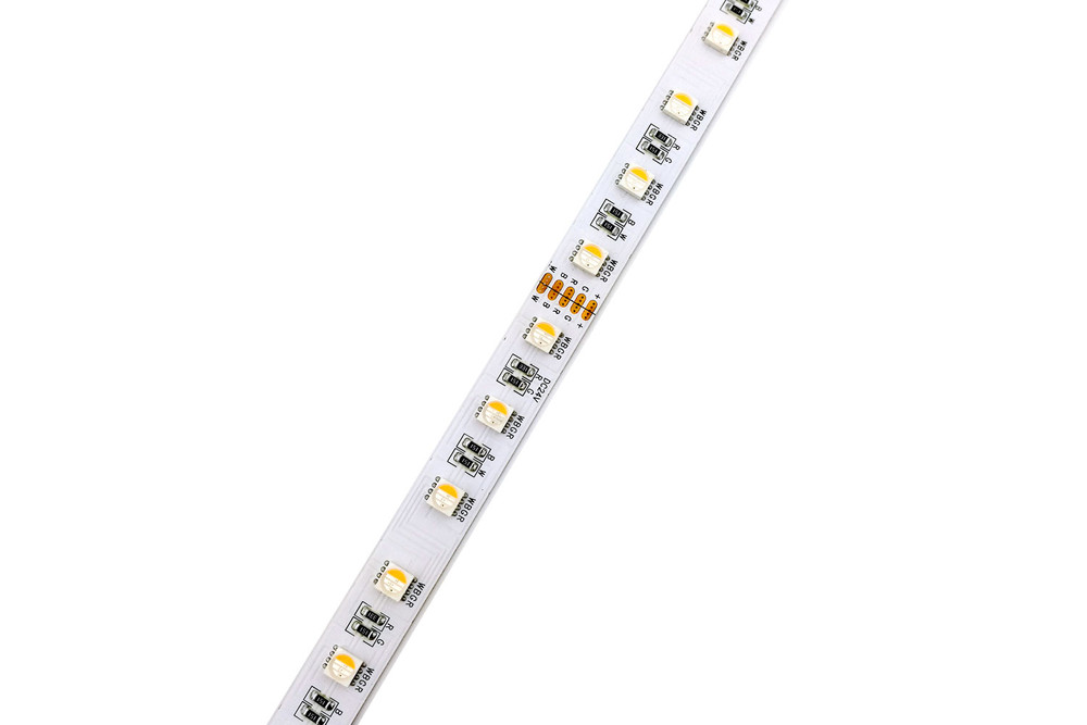 Flexible 16.4' 300 Diodes RGBCCT LED Strip Light - DR-5050FX60-24RGBCCT