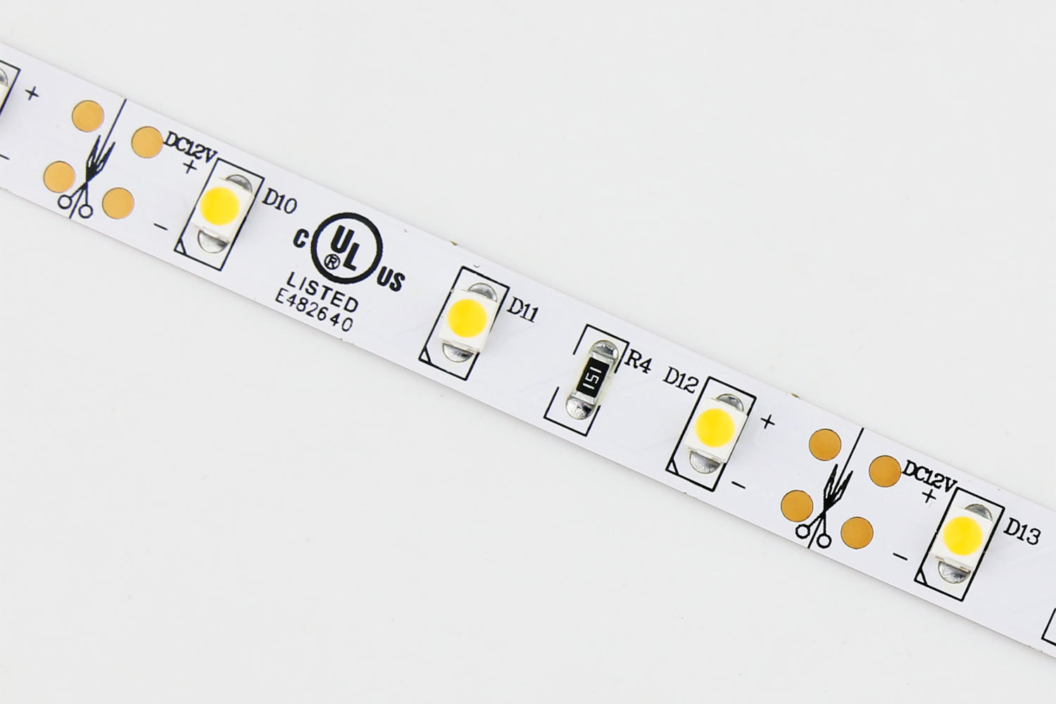 Flexible 16.4' 300 Diodes 3528 LED Strip Light - DR-3528FX60-12V