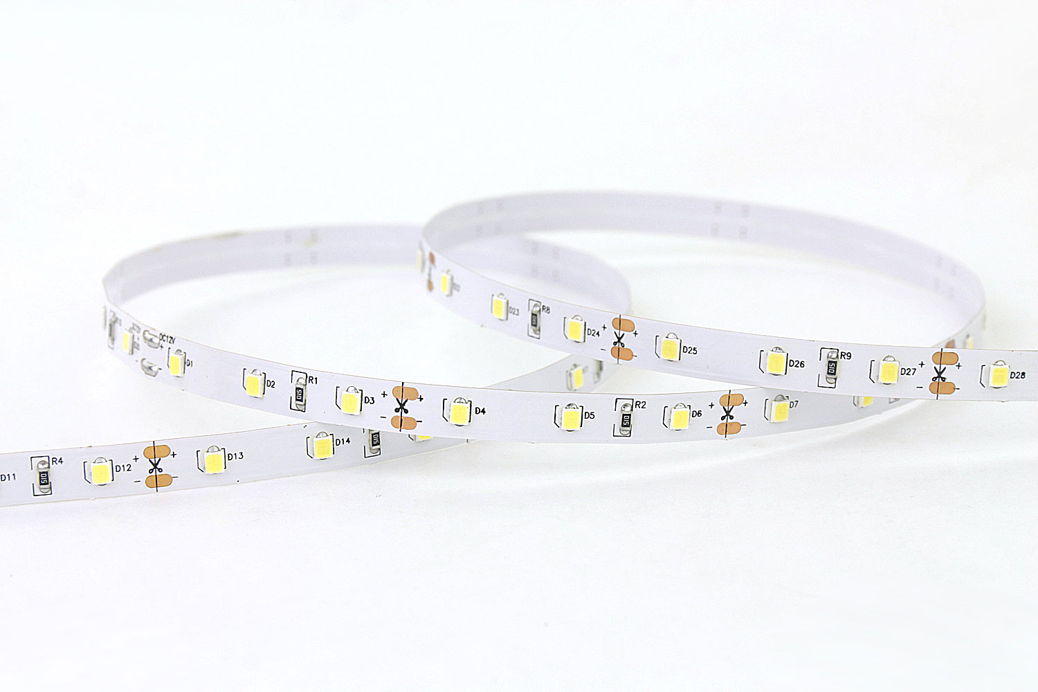 DeRun flexible coloured led strip lights effectively for office-3