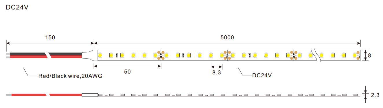 strip warm led strip lights vendor for hallway-2