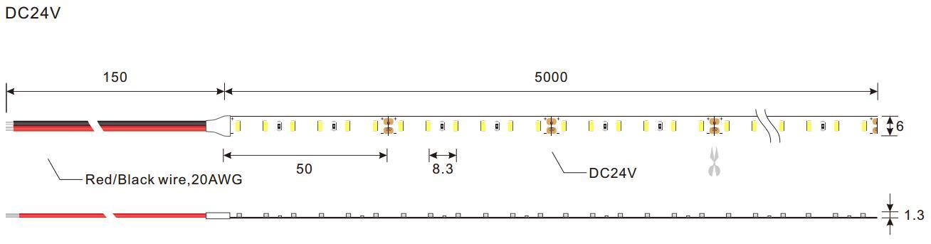 DeRun warm coloured led strip lights effectively for bar-2