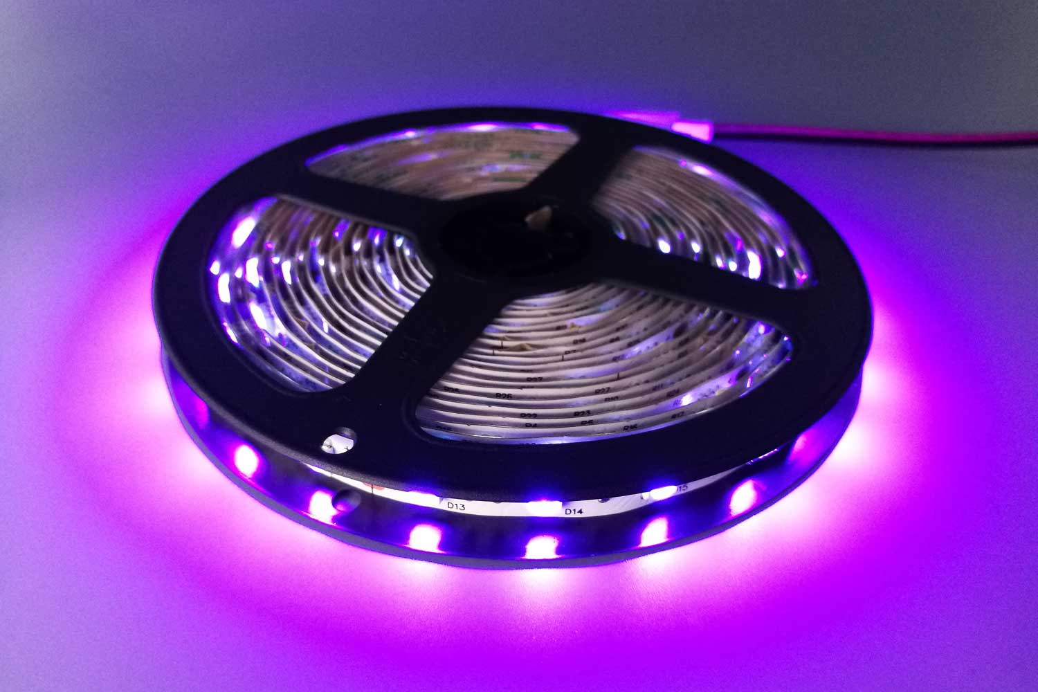 DeRun high-quality pink led strip light widely-use for wedding-2
