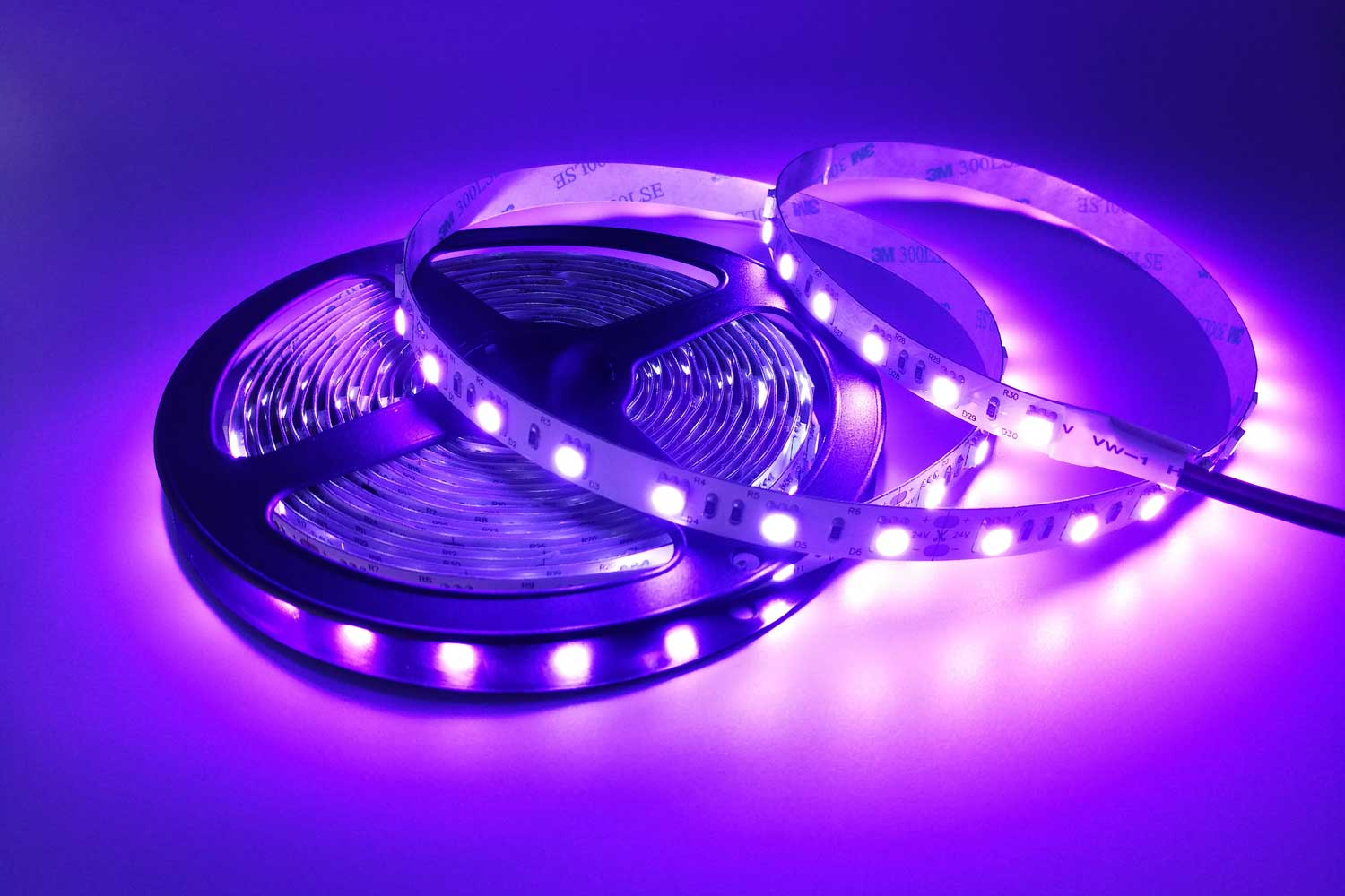 DeRun customizable pink led strip light certifications for party-1