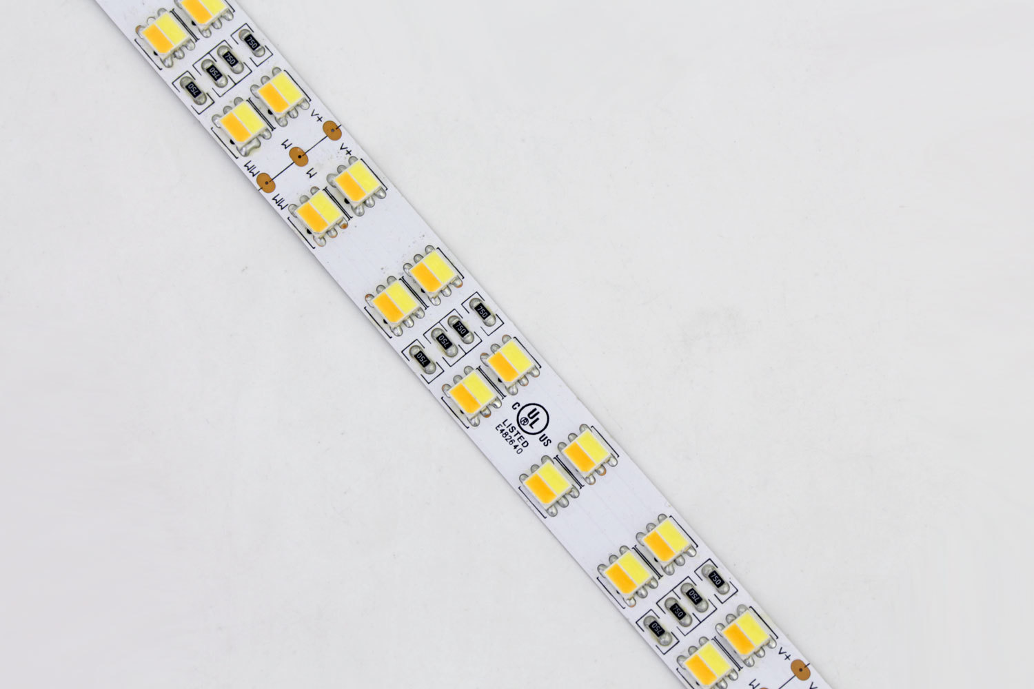 CCT Adjustable Double Row 5050 LED Strip Light DR-5050FX120-24CCT