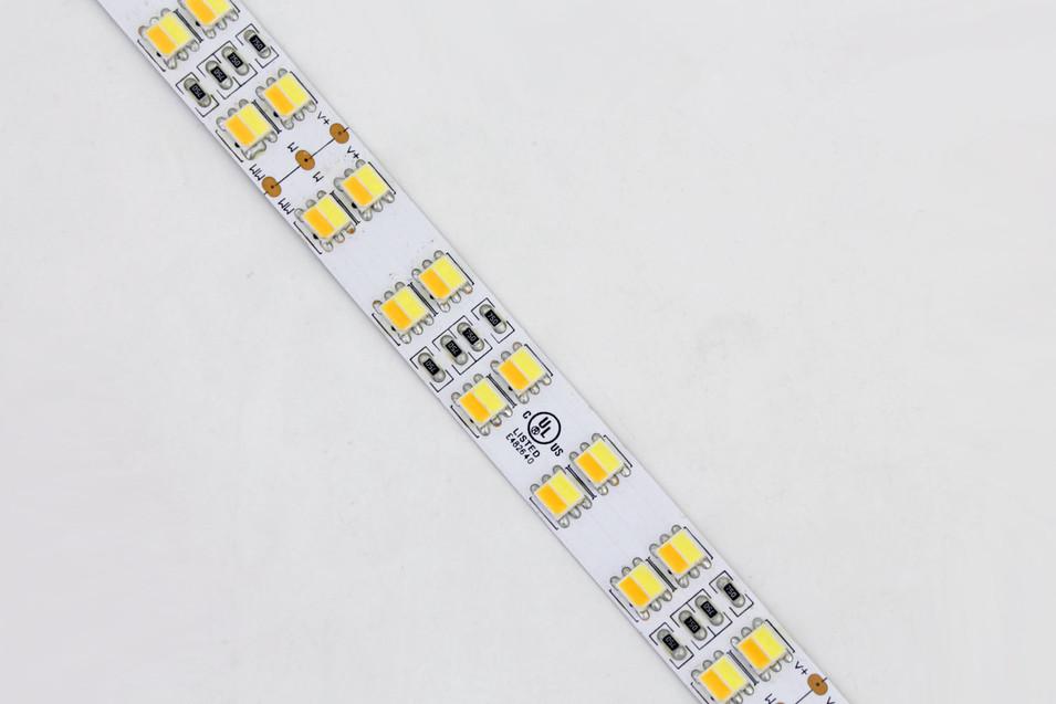 CCT Adjustable Double Row 5050 LED Strip Light DR-5050FX120-24CCT