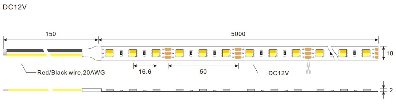DeRun cct cct led bulk production for hallway-1