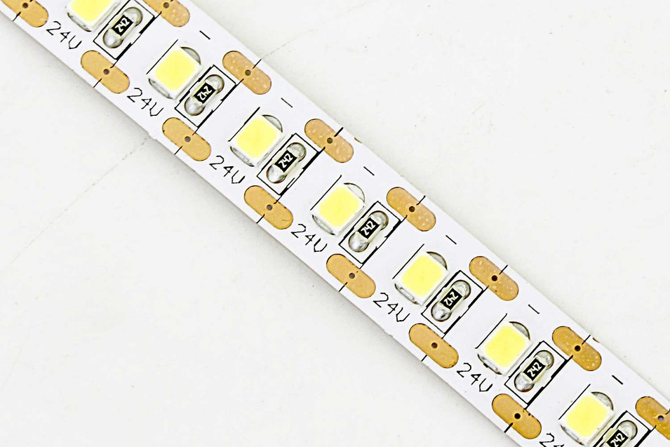 Flexible 16.4' 600 Diodes Short-unit Cuttable 2835 LED Strip Light - DR-2835FXY120-24V