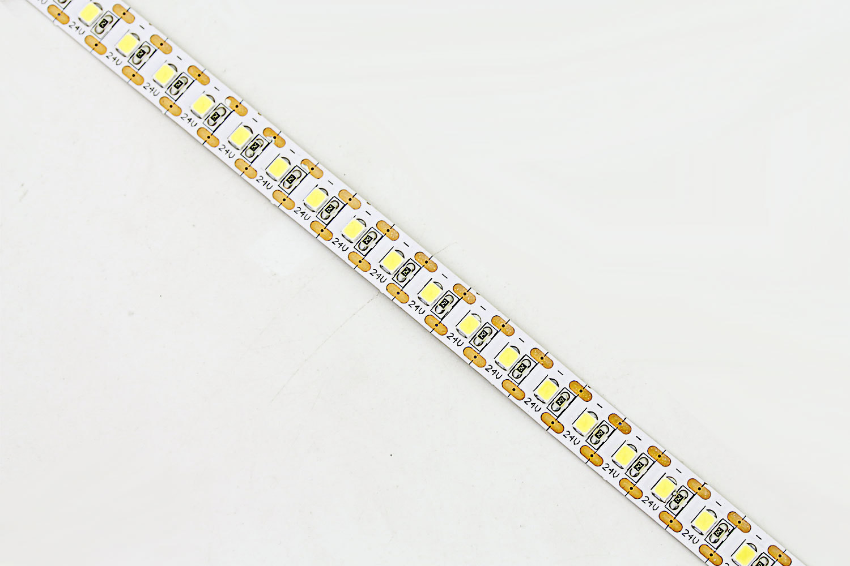 Flexible 16.4' 600 Diodes Short-unit Cuttable 2835 LED Strip Light - DR-2835FXY120-24V