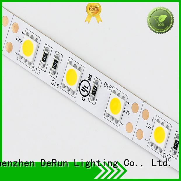 DeRun hot-sale warm led strip lights producer for event