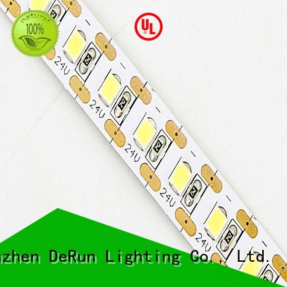 DeRun safety cuttable led rope light bulk production for building