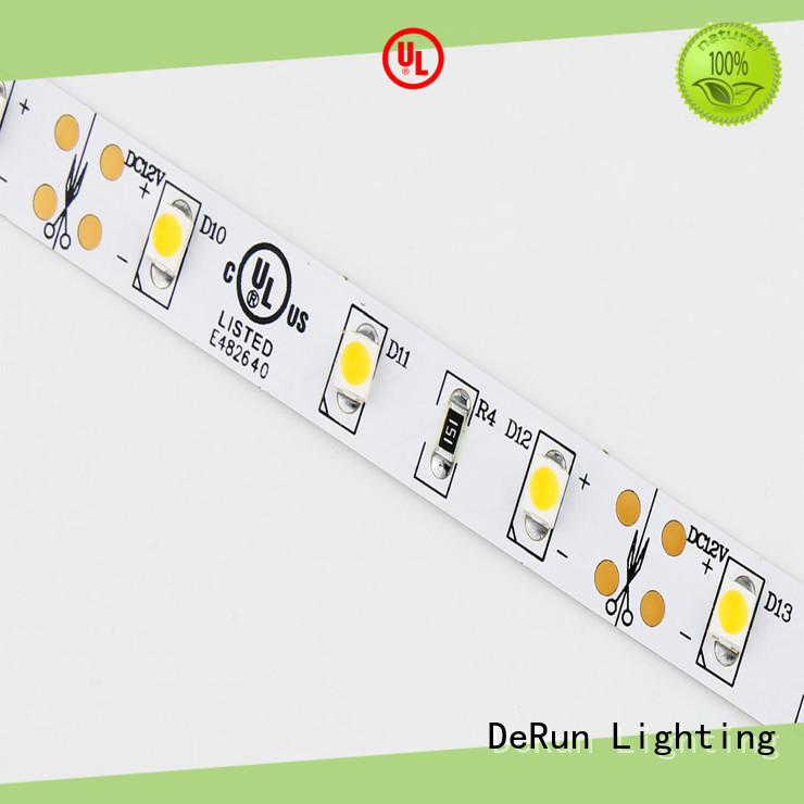DeRun low cost color led strip light for office