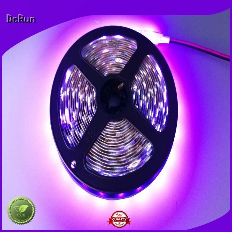 DeRun power pink led strip light producer for bar