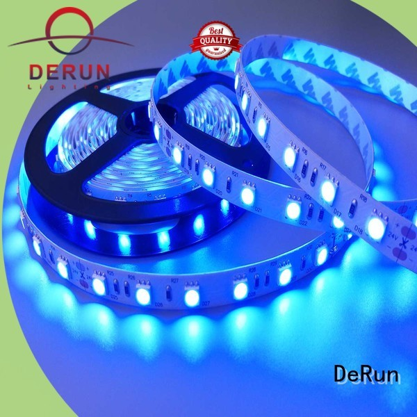 DeRun power pink led strip light certifications for entry