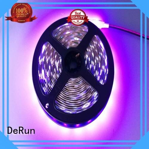 pink led strip light flexible for restaurant DeRun