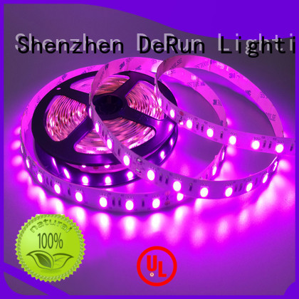 DeRun low cost amber led strip supplier for restaurant