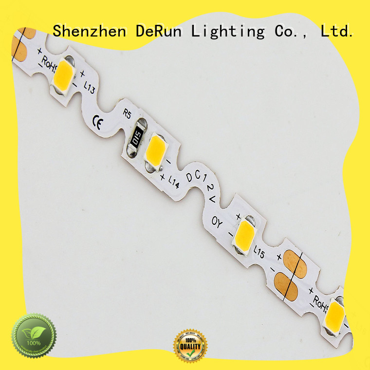 flexible cool white led strip lights lifespan for event DeRun