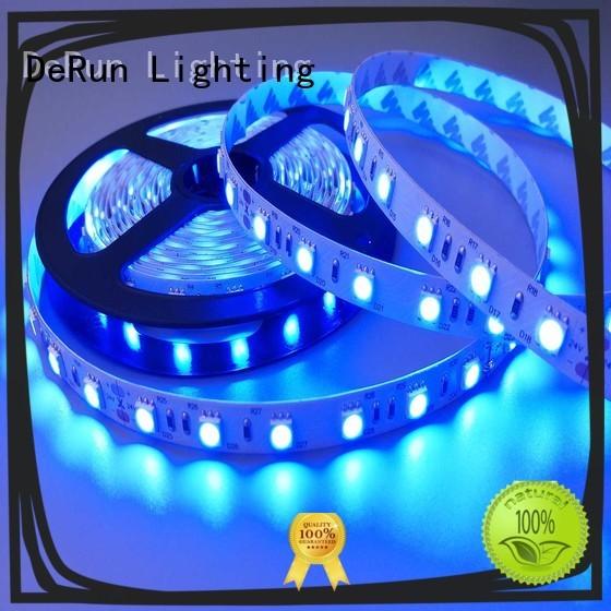 DeRun light uv led strip producer