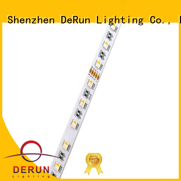 DeRun hot-sale rgbcct led strip vendor for counter