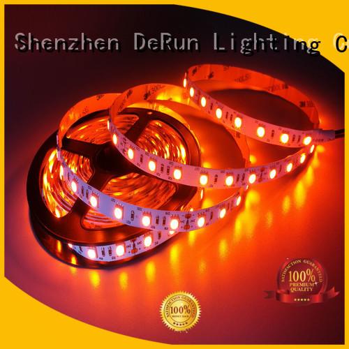 DeRun diodes amber led strip supplier for event