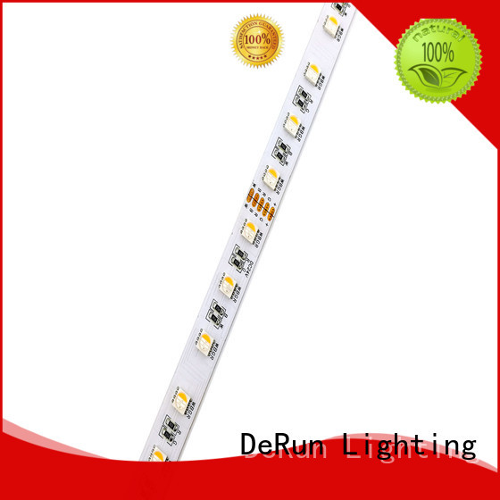 DeRun colors rgbw led strip light supplier for foyer