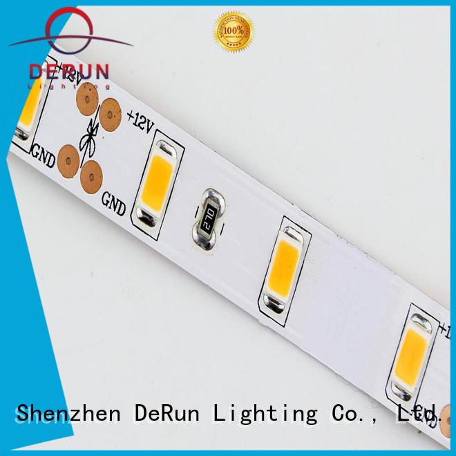 DeRun hot-sale color led strip light supplier for kitchen island