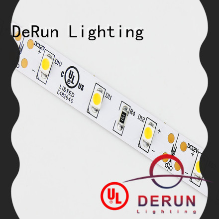 DeRun light coloured led strip lights factory for office