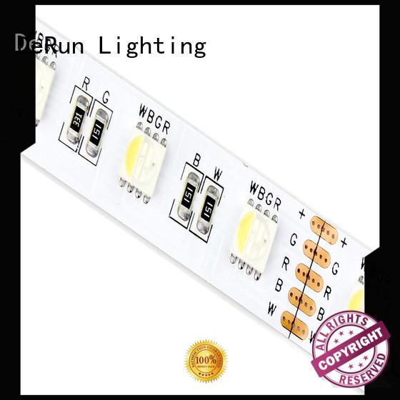 DeRun fine- quality rgbw led strip light quality for office