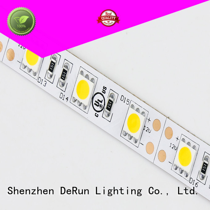 DeRun hot-sale coloured led strip lights producer for event