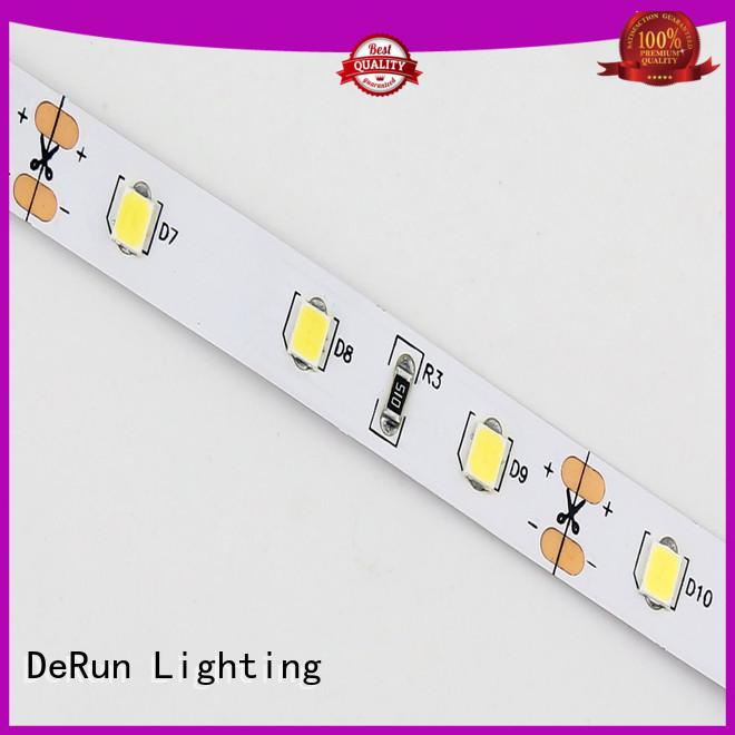 DeRun flexible coloured led strip lights producer for wedding
