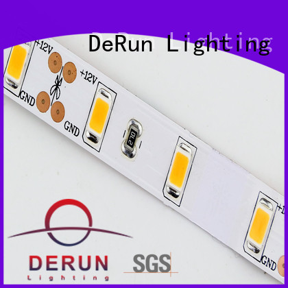 DeRun new-arrival warm led strip lights producer for restaurant