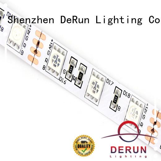 DeRun rgb rgbw led strip light for decoration