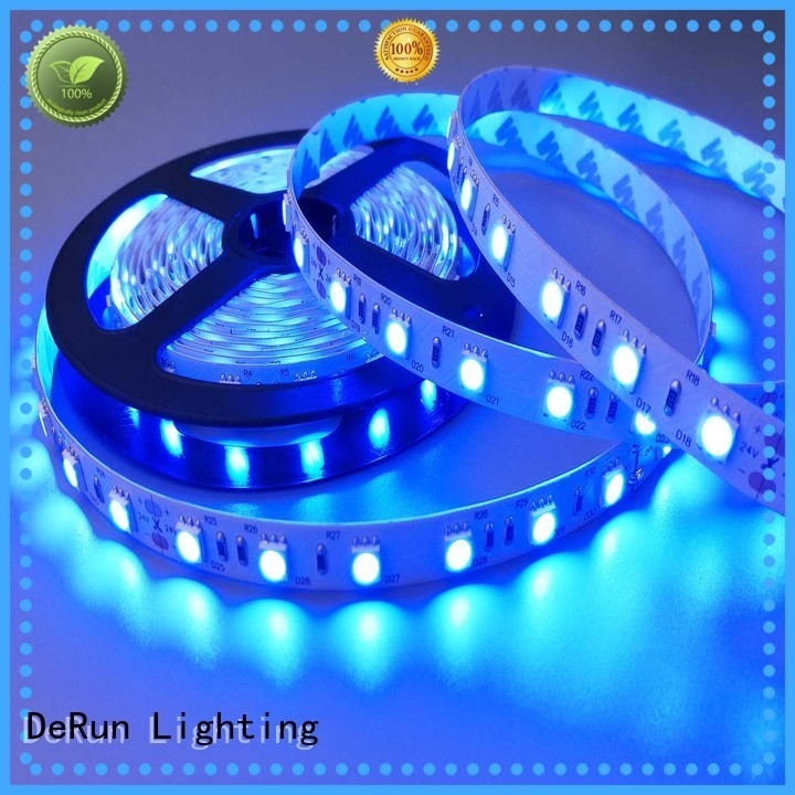 DeRun low cost uv led strip customizable for exhibition
