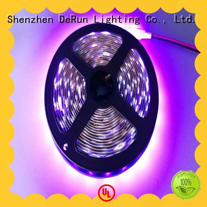 DeRun high-quality pink led strip light widely-use for wedding
