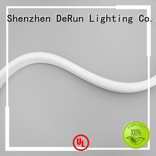 DeRun scientific led neon lights certifications for restaurant