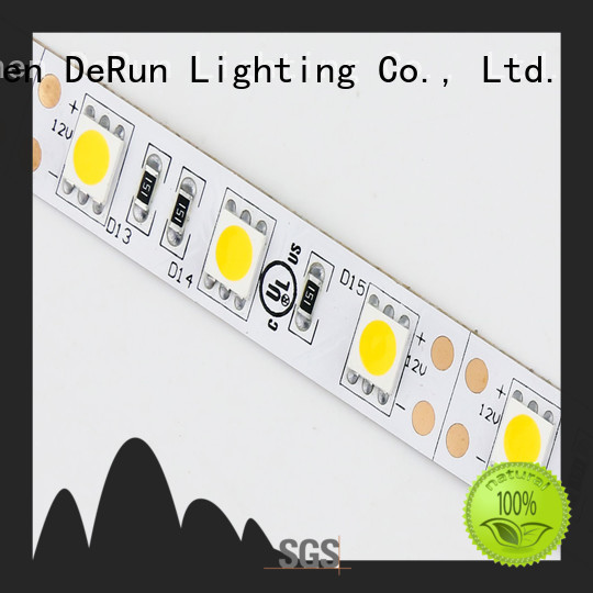 DeRun led coloured led strip lights factory for party