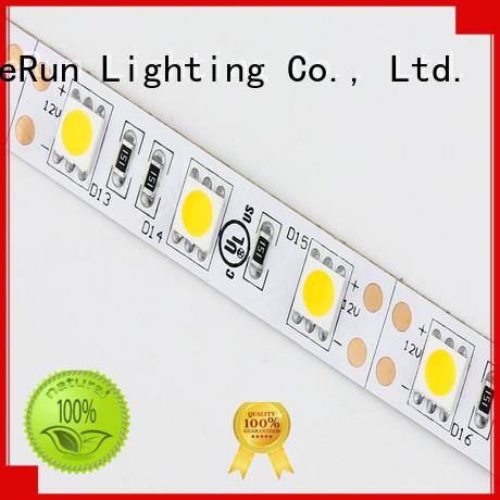 warm led strip lights diodes for hallway DeRun