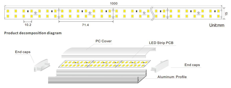 quality linear led lighting linear free design for bar-1