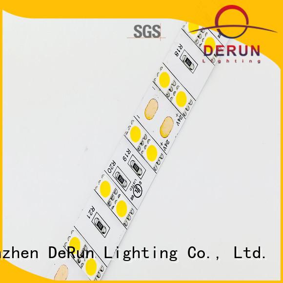 DeRun aluminum dimmable led strip lights vendor for bar