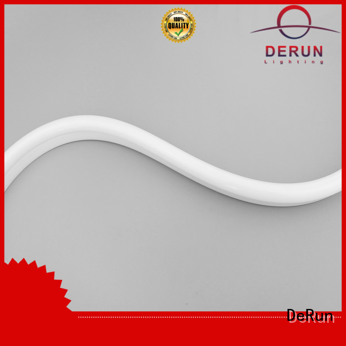 DeRun two-color led neon lights buy now for restaurant