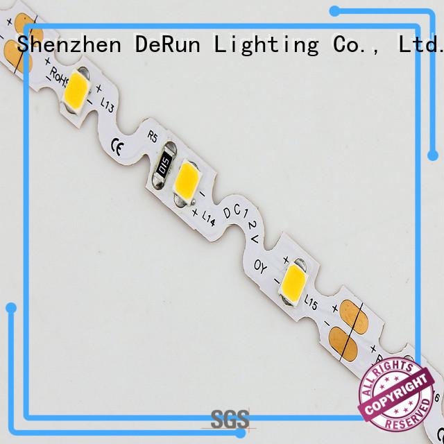 DeRun led bendable led strip bulk production for event